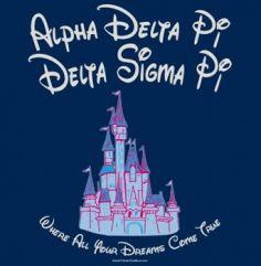ADPi :) Where all your dreams come true Kappa Delta Sorority, Alpha Sigma Alpha, Delta Zeta, Rho Gamma, Dreams Come True Quotes, Panhellenic Recruitment, Homecoming Themes, Pi T Shirt, Diamond Girl