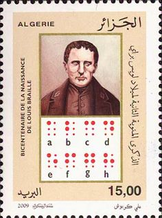 2009 Algerie Bicentenary of the Birth of Louis Braille