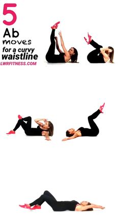Ab Workout For Women At Home, Ab Workout At Home, At Home Workouts, Workout Videos For Women, Simple Ab Workout, Exercise At Home, Workouts For Women, Fitness Workouts, Fitness Tips