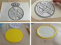Dulces para un Angel: Tarta Real Madrid