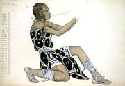 A Boetian Costume designed for Diaghilev's Ballets Russes, p...  by Leon (Samoilovitch) Bakst