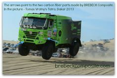 #Dakar2013 Brebeckcomposite worked on the front and side panel of this Bonver Dakar Project Tatra #tatra #brebeckcomposite #carbonfiber www.brebeckcomposite.com