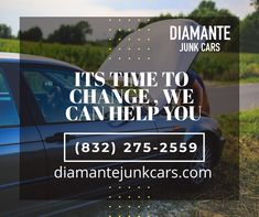 We buy your car in any condition. It's Time To Change, Car Ins, Conditioner