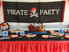 imagenes de mesas de dulces de piratas - Buscar con Google