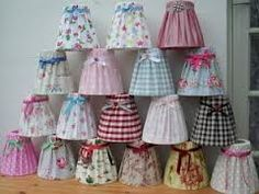 shabby chic lampshade - Google Search