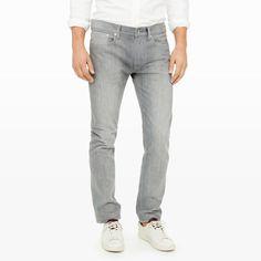 Slim-Fit Grey Wash Jean - Club Monaco Jeans - Club Monaco