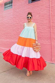 Fashion Tips Diy Simple Dresses, Cute Dresses, Casual Dresses, Summer Dresses, Dress Outfits, Fashion Dresses, Look Boho, Tent Dress, African Dress