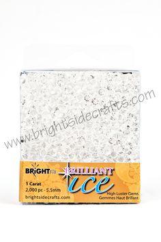 Brillaint Ice Clear. www.brightsidecrafts.com