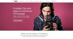 Mit Wix eine eigene Homepage erstellen!  Teil 1 der Artikelserie!