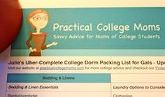 It's here! Our updated 2012 uber-complete college dorm packing list for girls.