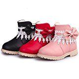 Amazon Angebote Mode TPulling Mode Junge Und Mädchen Martin Stiefel Herbst Und Winter Kinder-Verdickung Lässige Schuhe:…%#Quickberater%