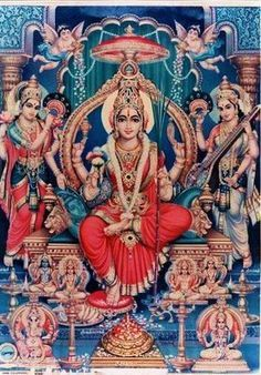 The Kundalini Goddess – Adi Para Shakti Lalita Tripura Sundari (Parvati)  In Hindu cultural beliefs Shakti is both responsible for creation and the agent of all change.  Shakti is cosmic existence as well as liberation, its most significant form being the Kundalini Shakti, a mysterious psychospiritual force
