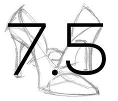 Shoe: 7.5