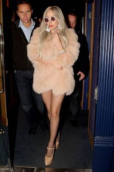 lady gaga giuseppe zanotti - she pretty much gave life to these shoes