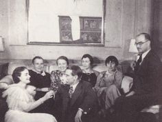 party with gertrude stein, thornton wilder and alice b. toklas