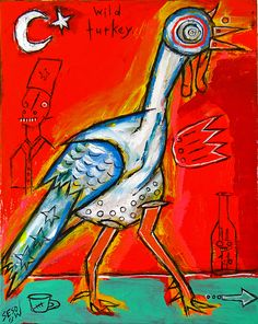 wild turkey by matt sesow   http://new.sesow.com  turkey.jpg (603×757)
