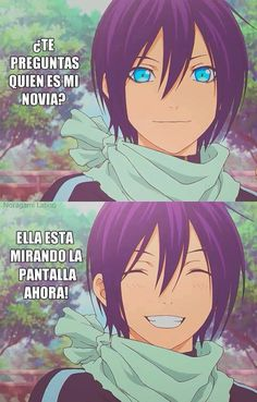 Read yato from the story MEMES DE NORAGAMI© by with reads. Otaku Anime, Manga Anime, Anime Art, Yatogami Noragami, Noragami Anime, Geeks, Yatori, Kamigami No Asobi, Shall We Date