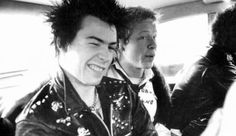 Sex Pistols Sid Vicious and Paul Cook