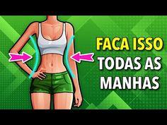 Flat Belly Workout, Tummy Workout, Waist Workout, Workout Tops, Ab Work, Fat Burning Workout, Lose Belly Fat, At Home Workouts, Morning Workouts