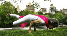 The 96-year-old, who was raised in India and currently lives in Westchester County, New York, has been practicing yoga for more than 70 years, and she shows no signs of slowing down.