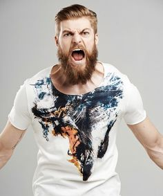 Proboscis monkey t-shirt. Selva's Raw Fit