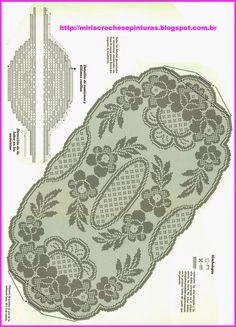 Crochet Crown of Hearts Doily Free Pattern - Crochet Doily Free Patterns Crochet Table Runner Pattern, Crochet Doily Patterns, Crochet Tablecloth, Thread Crochet, Crochet Motif, Crochet Designs, Crochet Doilies, Cross Stitch Patterns, Crochet Crown
