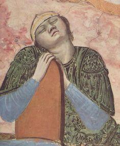 Giotto, Noli me tangere, detail - Cappella degli Scrovegni, Padova