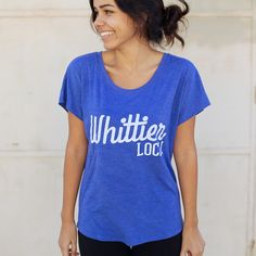 WOMEN'S WHITTIER LOCAL T-SHIRT - MORE COLORS