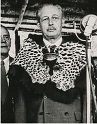 """Harold Macmillan on his """"winds of change"""" tour of Africa -Macmillan's first government had seen the first phase of the sub-Saharan African independence movement, which accelerated under his second government. His 'wind of change' speech in Cape Town on his African tour in February 1960 is considered a landmark in the process of decolonisation. Macmillan felt that if the costs of holding onto a particular territory outweighed the benefits then it should be dispensed with. After securing a thi..."""
