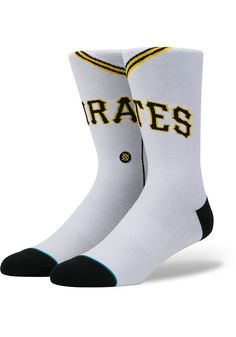Pittsburgh Pirates Stance Jersey Pack Mens Crew Socks