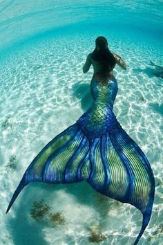 Get a mermaid tail