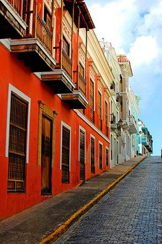 Colorful Old San Juan -- Peurto Rico