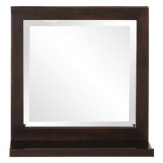 Have to have it. Silhouette Square Wall Mirror with Shelf 16W x 16H in. $125.90