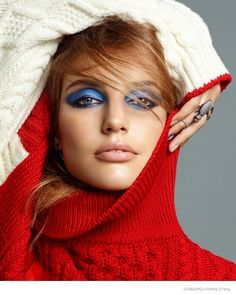 Smokey Screen–Legendary makeup artist Pat McGrath creates three colorful fall eye looks for the December issue of Cosmopolitan (which also features Rita Ora on the cover). Models Pamela Bernier, Astrid Bearsma and Kyra Green show off the vibrant shades in these images captured by Kai Z. Feng. Fashion editor James Worthington DeMolet selected standout autumn designs from labels ...