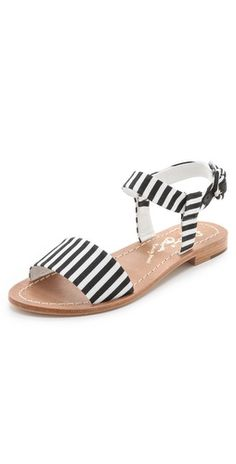 alice + olivia Bella Flat Sandals | SHOPBOP
