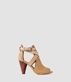 ALLSAINTS 베니 힐 샌들. #allsaints #shoes #