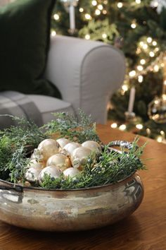 A Final Look At Our Classic Christmas Home - Sincerely, Marie Design Merry Little Christmas, Blue Christmas, Simple Christmas, Christmas Holidays, Christmas Crafts, Christmas Ornaments, Christmas Trees, Amazon Christmas, Christmas Mantles