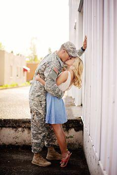 Military Engagement photos  {Judith Marin Photography}