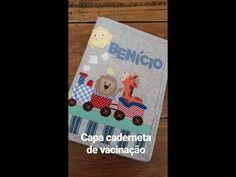 Capa caderneta vacinação 👶 - YouTube Patch Quilt, Use E Abuse, Patch Aplique, Patches, Quilts, Cover, Youtube, Wallets, Handmade Crafts