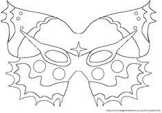 Masque de papillon à imprimer - Votre image id-11 sur UnGaVa.info