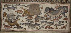 Particolare del Mosaico di Lod, Villa romana | Artribune
