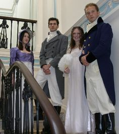 Regency Style Costumes For Hire, Farthingale