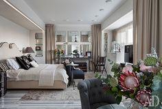 Потрясающая московская студия 34 м2 от Татьяны Мироновой - Дизайн интерьеров   Идеи вашего дома   Lodgers