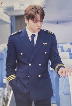 Adore U, Seungkwan, Woozi, Vernon, Kpop Boy, Seventeen, Pilot, Suit Jacket, Boys