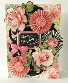 Shabby chic cards handmade anna griffin 38 ideas for 2019 Graphic 45, Birthday Scrapbook, Birthday Cards, Card Making Inspiration, Making Ideas, Quilted Christmas Ornaments, Paper Rosettes, Shabby Chic Cards, Anna Griffin Cards