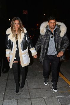 Ciara and Russell ❤
