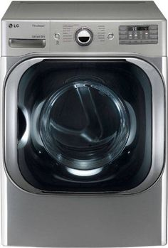 #LG 9 Cu. Ft. Mega Capacity Gas Dryer with TrueSteam Technology Have it your way with this large #steam dryer. With 14 dryer programs and 5 temperature settings, ...