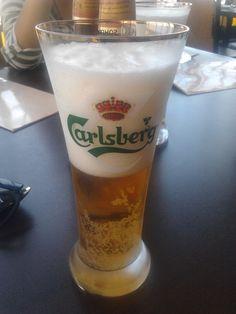dat foam ! #carslberg #beer