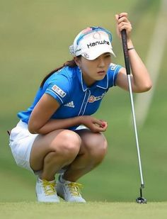 Sexy Golf, Sports Celebrities, Lpga, Sports Stars, Cute Asian Girls, Nice Legs, Photo Reference, Golf Outfit, Korean Women