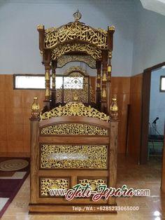 Mimbar Masjid Ukiran Mewah Jepara